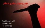 شرکت در نزاع دسته جمعی و مجروح نمودن دیگری با چاقو