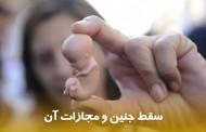 سقط جنین، انواع و مجازات آن