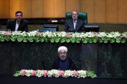حضور رئیس جمهور در صحن علنی مجلس برای دفاع از کابینه پیشنهادی