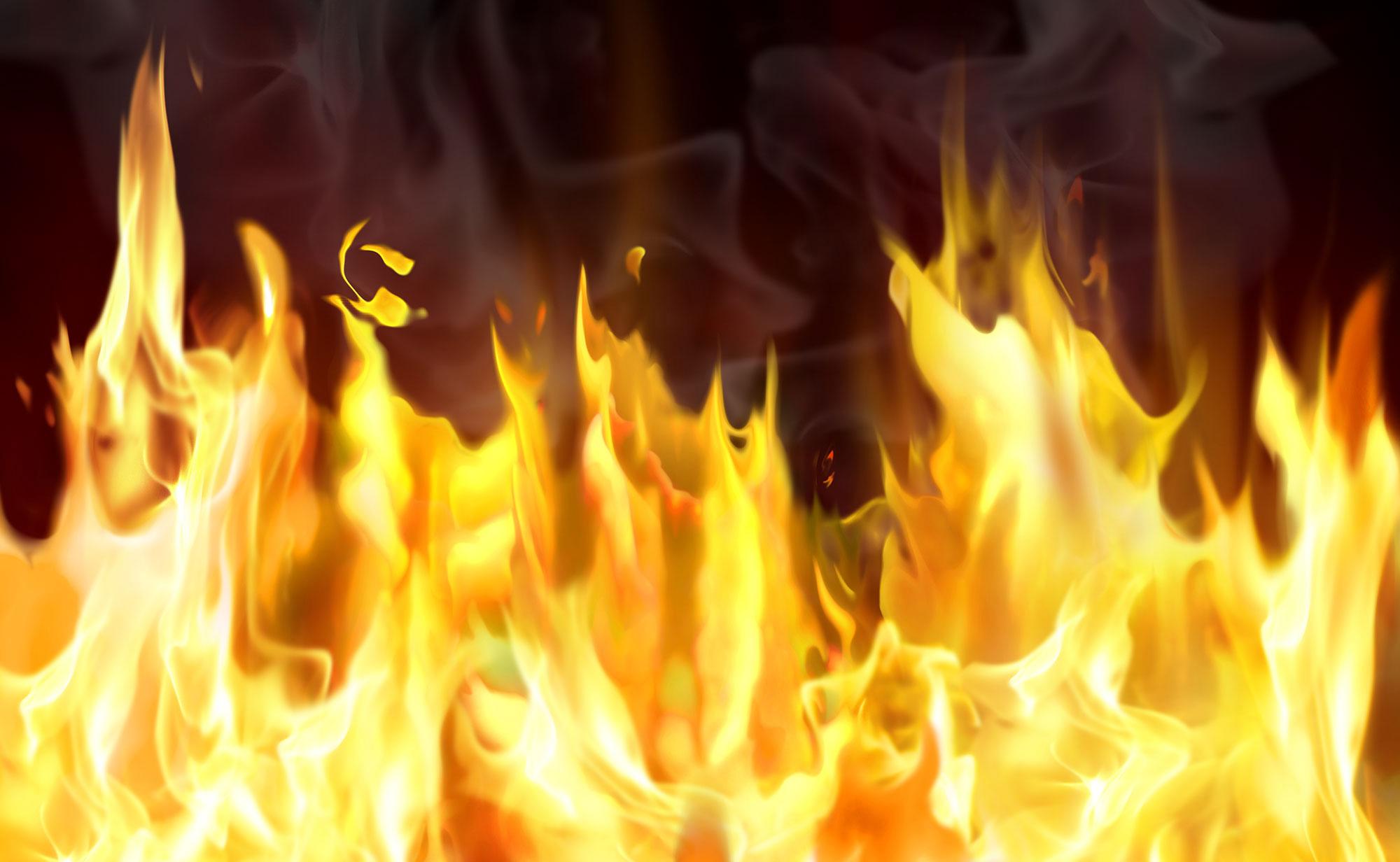 آتش سوزی در پاساژ کوروش