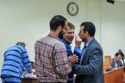 اخراج بابک زنجانی از دادگاه