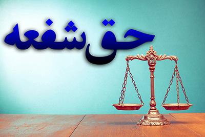 نمونه رأی فوری بودن اعمال حق شفعه