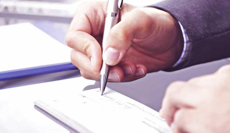 خیانت در امانت چک سفید امضا