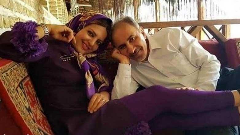 محمدعلی نجفی و همسرش
