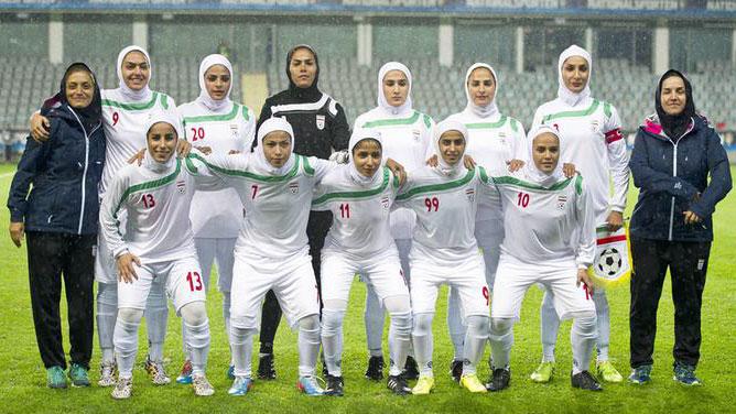 زنان در تیم های ملی ایران
