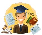 آزمون وکالت در سال 99 شرایط و مدارک