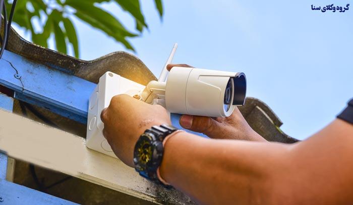 نصب دوربین مداربسته در اماکن عمومی