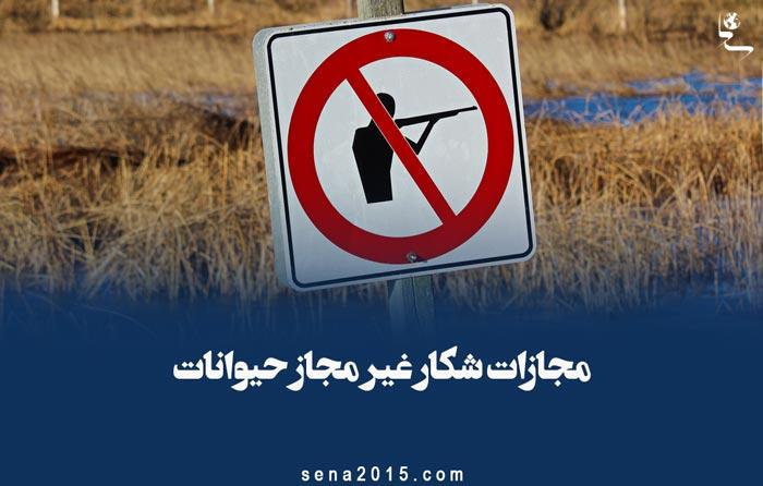 مجازات شکار غیر مجاز حیوانات