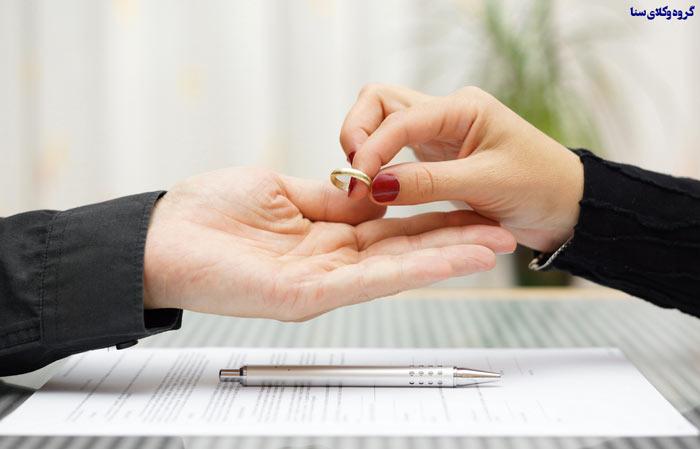 علل عمده طلاق از طرف زن