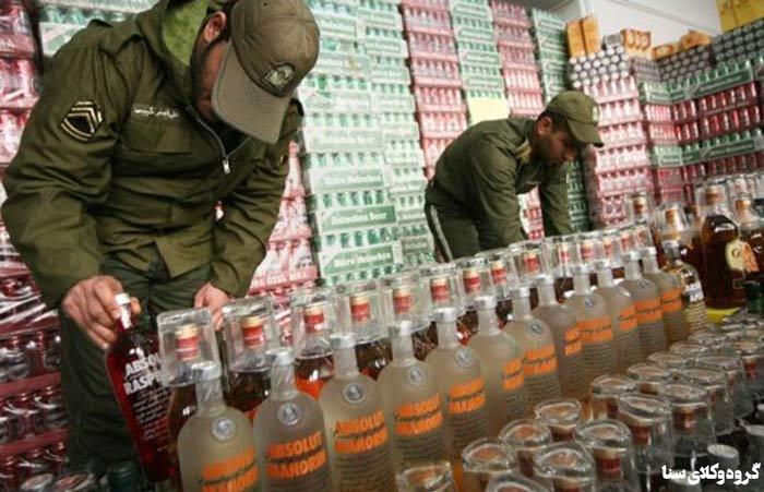 چه وسایلی با مشروبات توسط مراجع انتظامی توقیف می شود؟