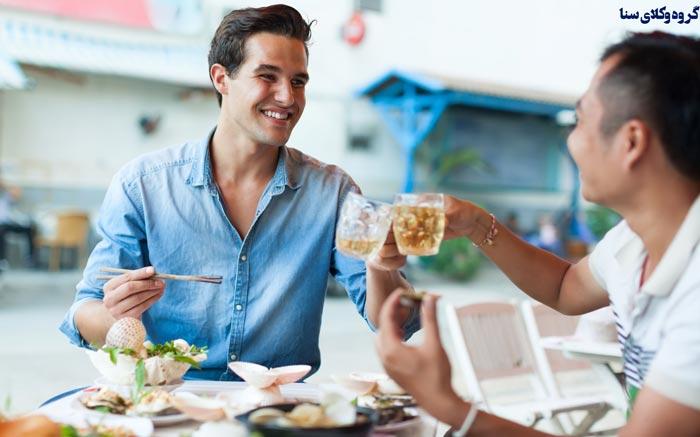 مصرف الکل برای توریست ها توسط هتل های بین المللی داخلی
