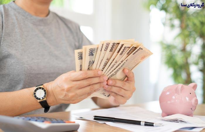 انواع یارانه از نظر حسابهای مالی