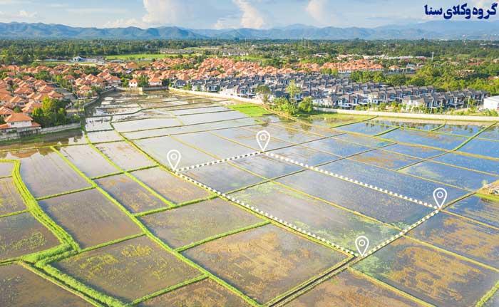 تقسیم ارث در زمین کشاورزی