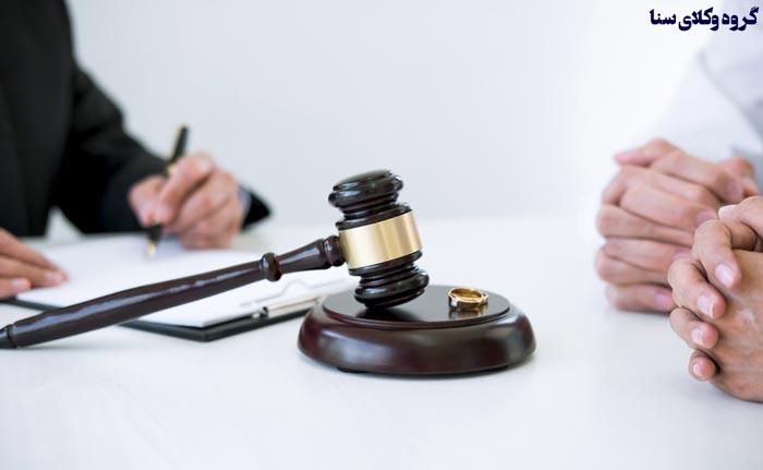 دفاع مرد در دادگاه طلاق
