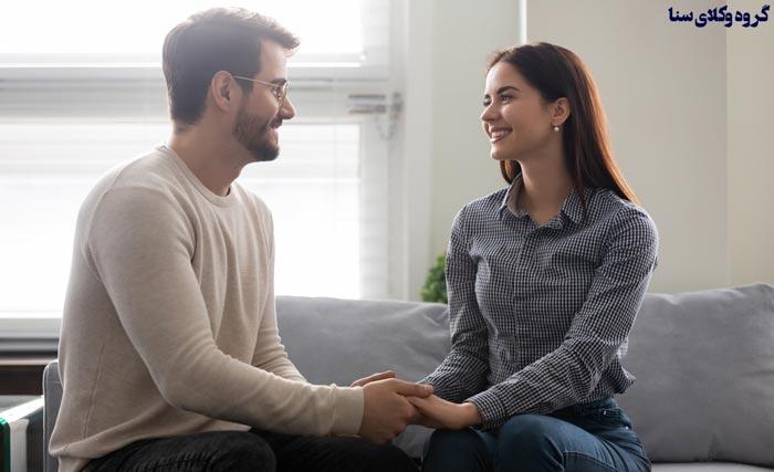 موارد حسن معاشرت بین زن و شوهر
